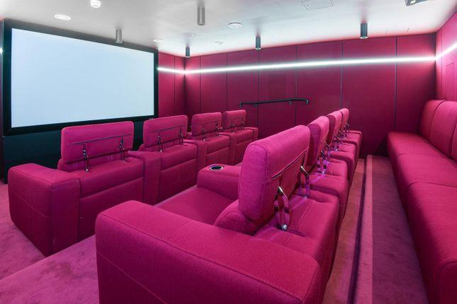 Cinema of Waterman Gardens, Tidemill Square, Lower Riverside, Greenwich Peninsula SE10