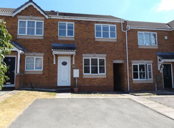 Thumbnail Terraced house to rent in Fremantle Drive, Cannock
