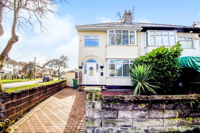 3 bed semi-detached house for sale in Princes Boulevard, Bebington, Wirral