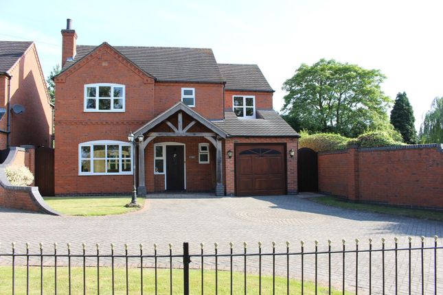 Thumbnail Detached house for sale in Appleby Magna, Derbyshire