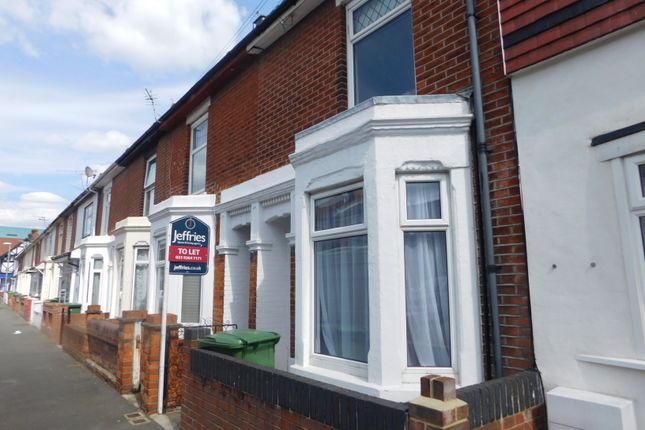 Thumbnail Terraced house to rent in Frogmore Road, Southsea