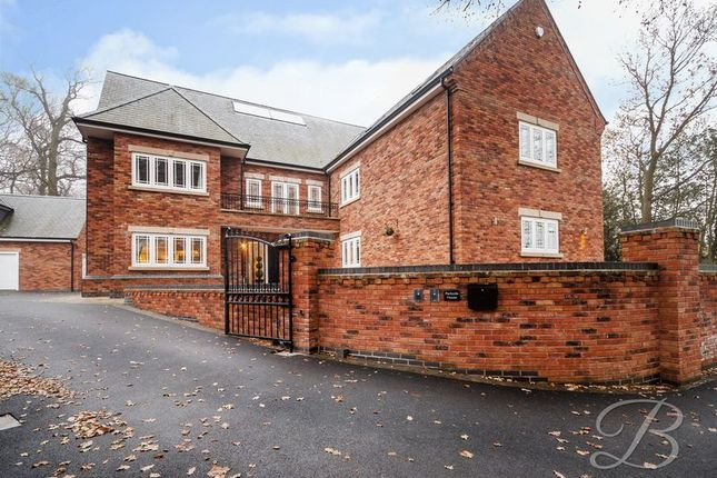 Thumbnail Detached house for sale in Lichfield Lane, Mansfield