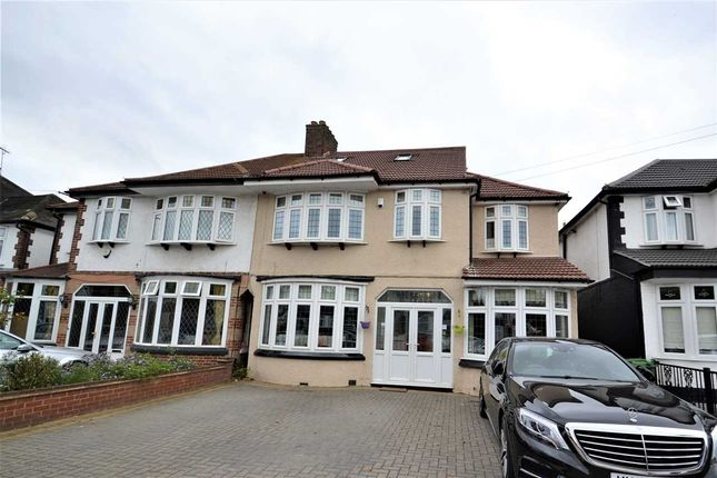 Thumbnail Semi-detached house for sale in Abbotswood Gardens, Clayhall, Ilford