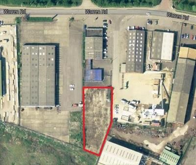 Thumbnail Land to let in Land, Warren Road, Scunthorpe, North Lincolnshire