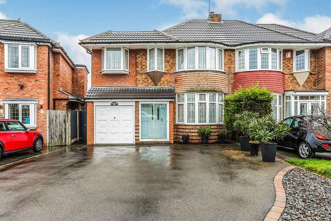 Thumbnail Semi-detached house for sale in Hawthorne Road, Castle Bromwich, Birmingham