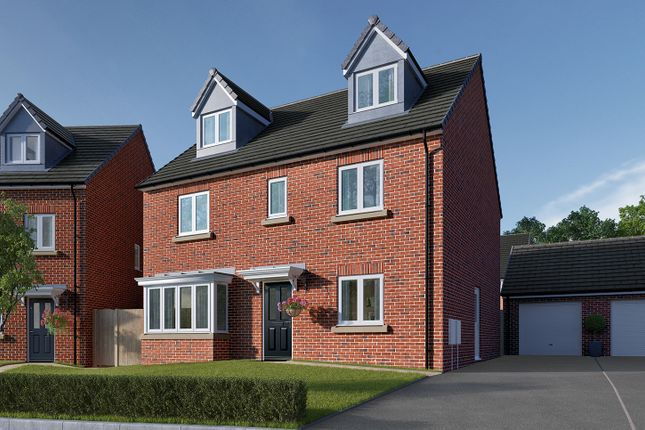 "Thumbnail Detached house for sale in ""The Fletcher"" at Roecliffe Lane, Boroughbridge, York"