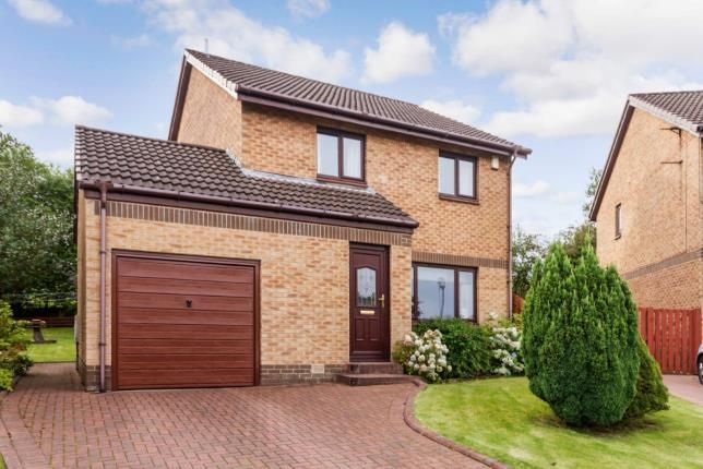 Thumbnail Detached house for sale in Medrox Gardens, Cumbernauld, Glasgow, North Lanarkshire
