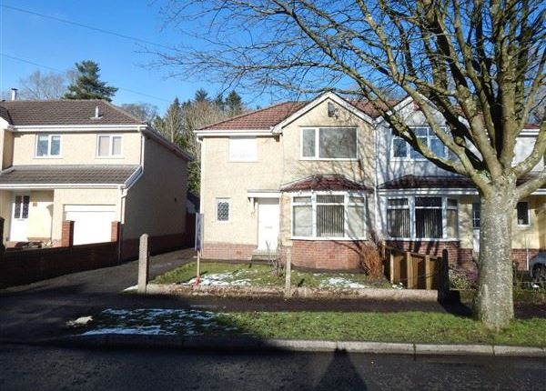 Thumbnail Semi-detached house to rent in Cambridge Gardens, Beaufort, Ebbw Vale