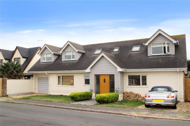 Link-detached house for sale in Shaftesbury Road, Rustington, West Sussex