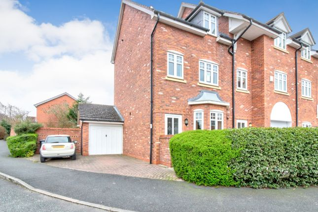 Thumbnail Town house for sale in Haydn Jones Drive, Nantwich