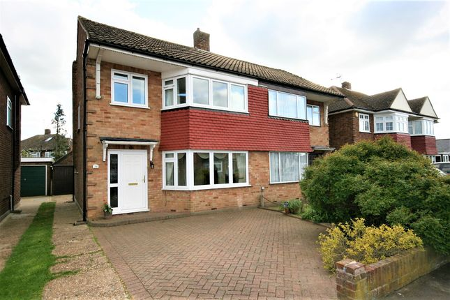 Thumbnail Semi-detached house to rent in Mayflower Way, Ongar