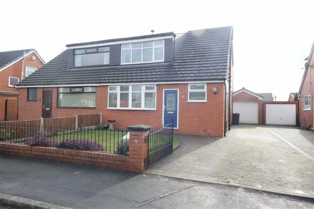 Thumbnail Semi-detached house to rent in Harbourne Close, Walkden, Manchester