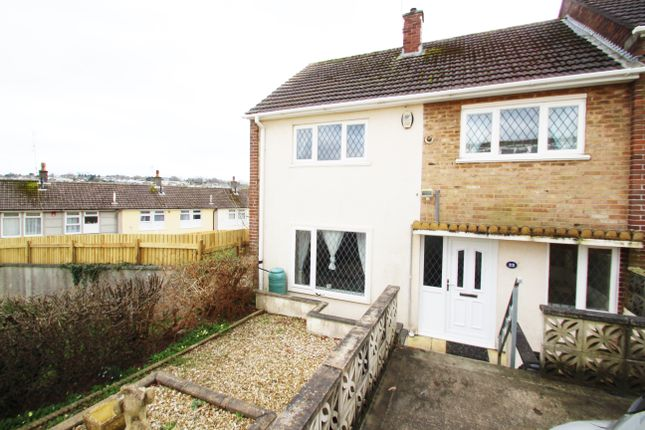 Thumbnail End terrace house for sale in Bampfylde Way, Plymouth
