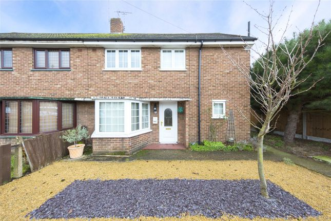 Thumbnail Semi-detached house for sale in Central Avenue, Aveley, South Ockendon, Essex