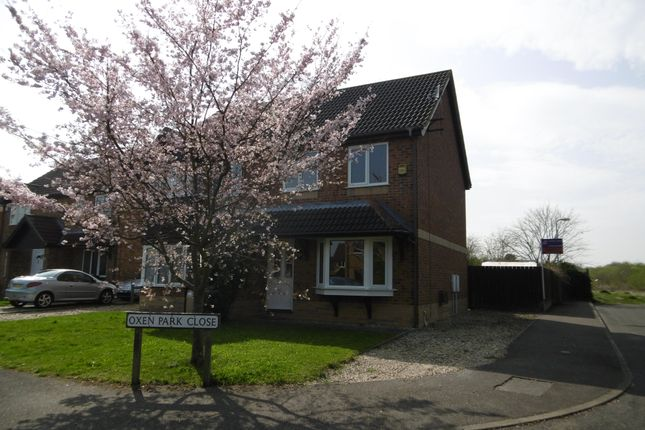3 bed semi-detached house to rent in Oxen Park Close, Lincoln