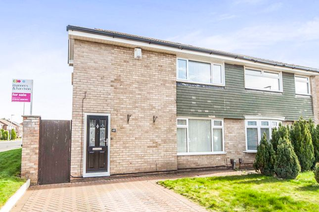 Thumbnail Semi-detached house for sale in Petrel Crescent, Norton, Stockton-On-Tees