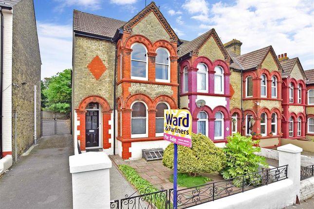 Thumbnail End terrace house for sale in Nelson Road, Gillingham, Kent
