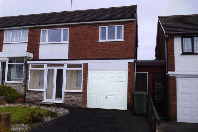 Thumbnail Semi-detached house to rent in Berwick Grove, Great Barr, Birmingham