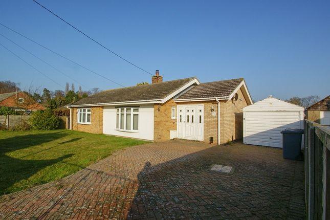 Thumbnail Detached bungalow for sale in Linden Close, Aldeburgh