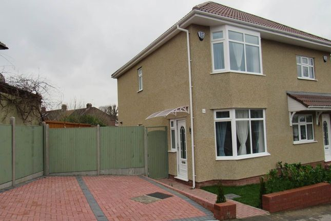 Thumbnail Semi-detached house to rent in Bishopthorpe Road, Westbury On Trym, Bristol