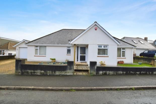 Thumbnail Detached bungalow for sale in Finches Close, Plymouth, Devon