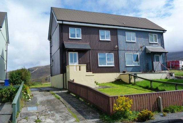 Thumbnail Semi-detached house for sale in Leveruburgh, Isle Of Harris