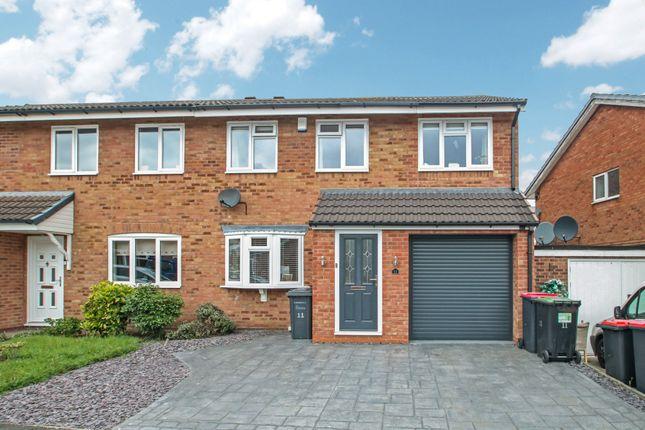 Semi-detached house for sale in Sorrel Drive, Kingsbury, Tamworth