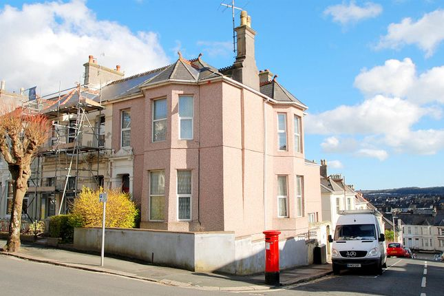Thumbnail End terrace house for sale in Salisbury Road, Lipson, Plymouth