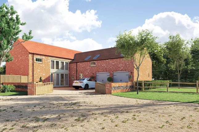 Thumbnail Detached house for sale in Highfield Grange, Cundall, York, North Yorkshire