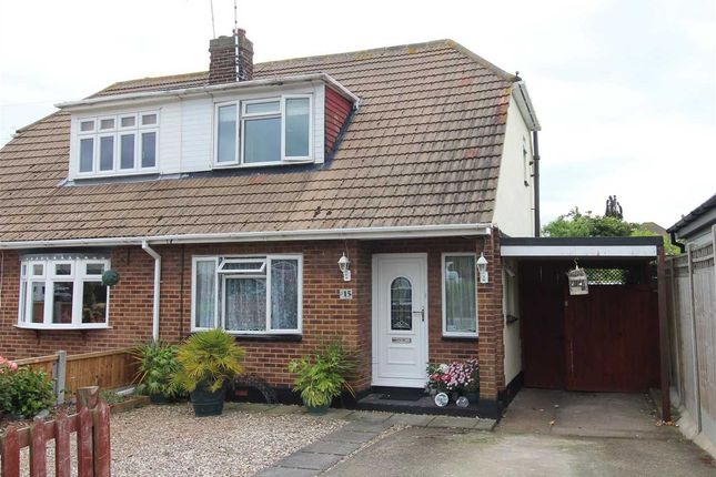 Thumbnail Semi-detached house for sale in South Parade, Canvey Island