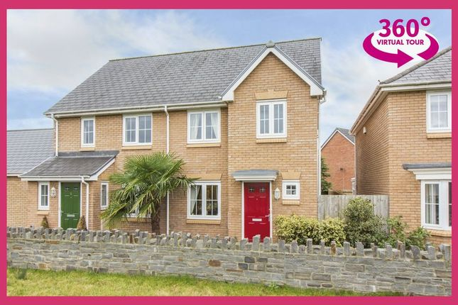 Thumbnail Semi-detached house for sale in Heol Senni, Bettws, Newport