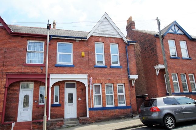 End terrace house to rent in Moorland Road, Scarborough