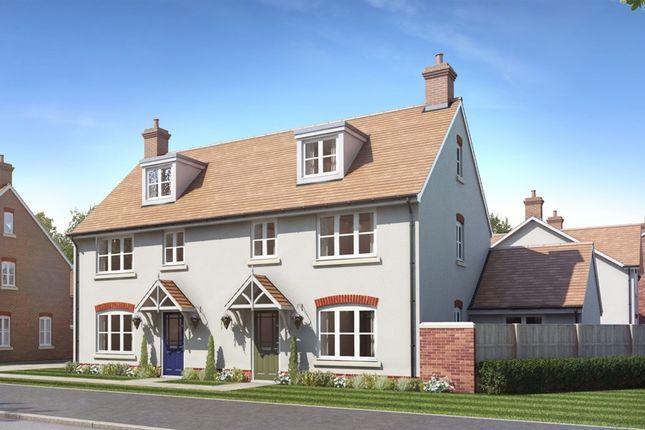 Thumbnail Semi-detached house for sale in Millway Furlong, Haddenham, Aylesbury