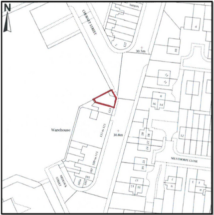 Land for sale in Westminster Road, Kirkdale, Liverpool