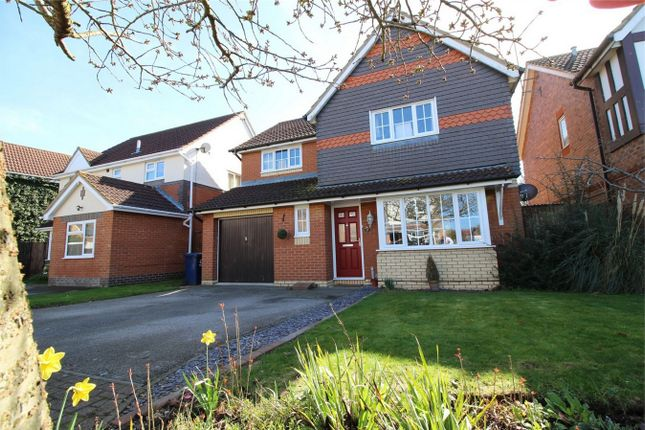 Thumbnail Detached house for sale in Brigland Close, Huntingdon