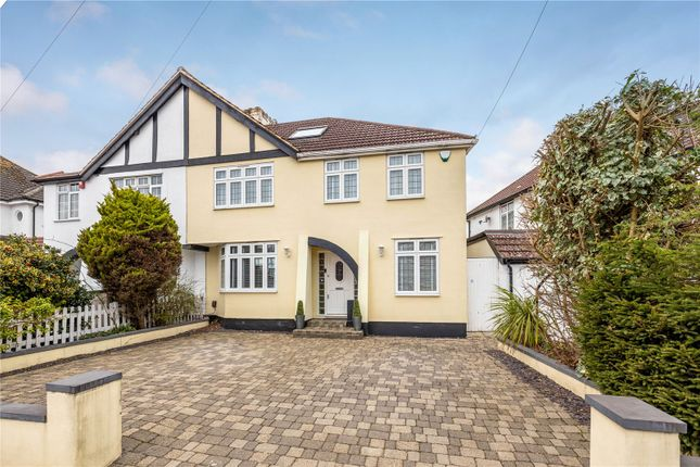 Thumbnail Semi-detached house for sale in Crest View Drive, Petts Wood, Orpington