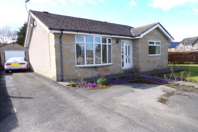 Thumbnail Detached bungalow for sale in Station Road, Clayton, Bradford