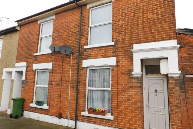 Thumbnail End terrace house to rent in Meyrick Road, Portsmouth