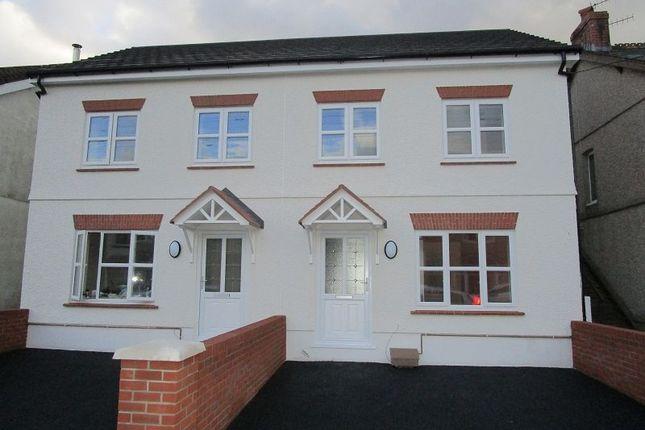Thumbnail Semi-detached house for sale in Wind Road, Glanrhyd, Ystradgynlais, Swansea.