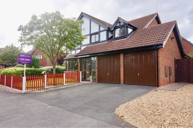 Thumbnail Detached house for sale in Powell Road, Priorslee