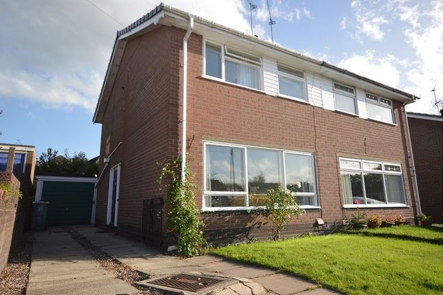 Thumbnail Semi-detached house to rent in Maple Close, Sandbach, Cheshire