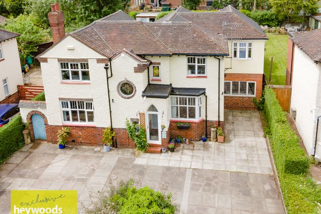 Thumbnail Detached house for sale in Meaford Road, Barlaston, Stoke-On-Trent