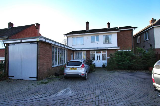 Thumbnail Detached house for sale in Western Avenue, Newport