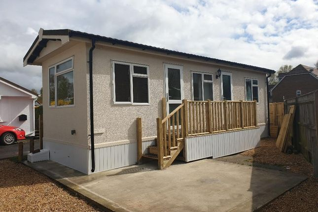 Thumbnail Mobile/park home to rent in Moorgreen Road, West End, Southampton