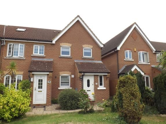 Thumbnail End terrace house for sale in Harlow, Essex