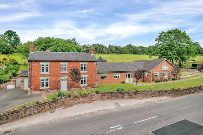 Thumbnail Detached house for sale in Ashbourne Road, Whiston, Stoke-On-Trent