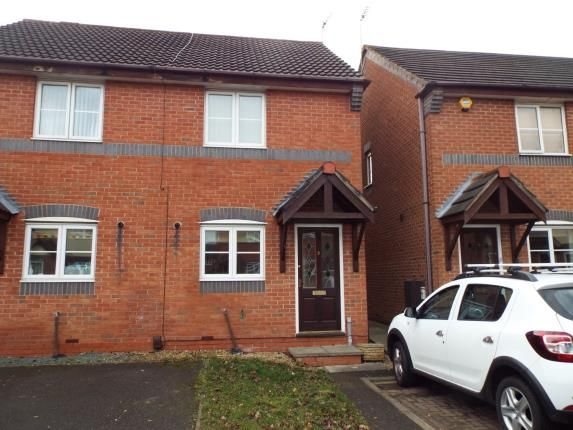 Thumbnail Semi-detached house for sale in Waterville Close, Leicester