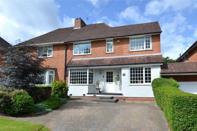 Thumbnail Semi-detached house for sale in Birch Road, Rubery, Birmingham