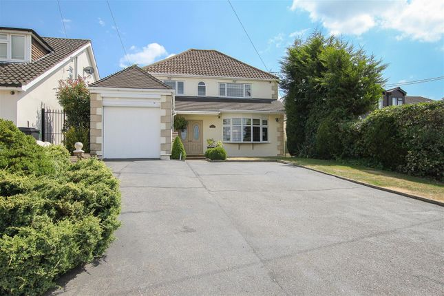 Thumbnail Detached house for sale in Blackmore Road, Hook End, Brentwood
