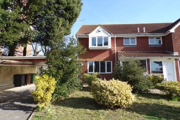 Thumbnail Semi-detached house to rent in Upperton Road, Eastbourne